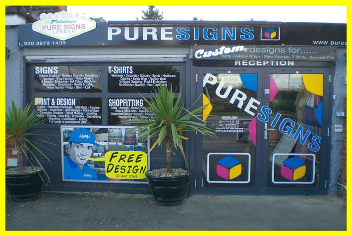 pure signs shop