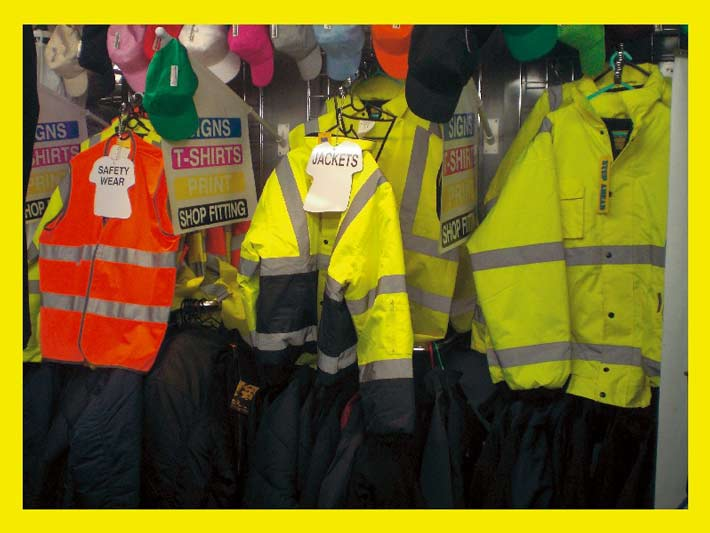 health and safety signs and clothing from Pure Signs